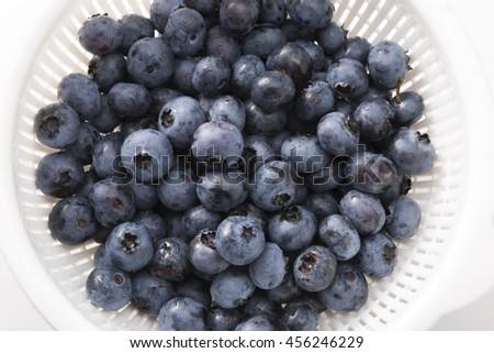 blueberry - stock photo