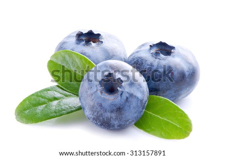 Blueberry.Healthy eating. - stock photo