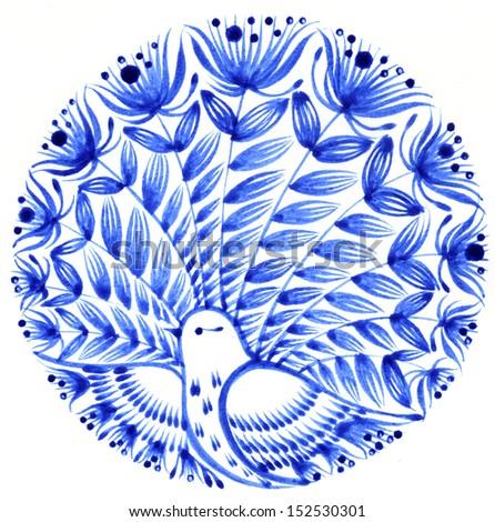bluebird - stock photo