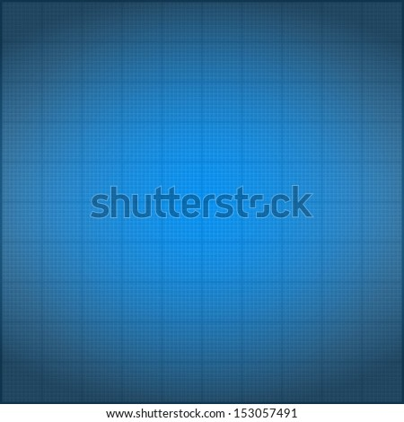 Blueprint background with vignetting - stock photo