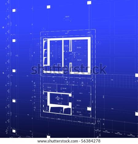 Blueprint business building plan stock illustration 56384278 blueprint business building plan malvernweather Choice Image
