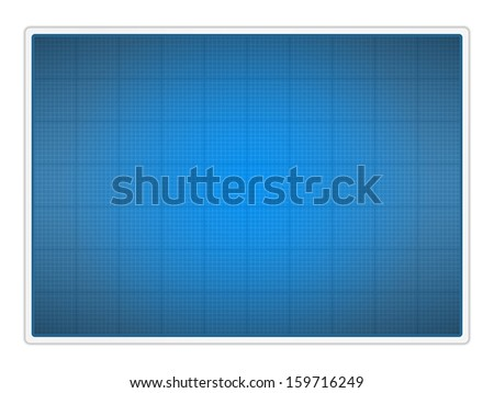Blueprint paper - stock photo