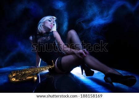 Blues - stock photo
