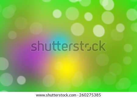 blur abstract spring or easter background - stock photo