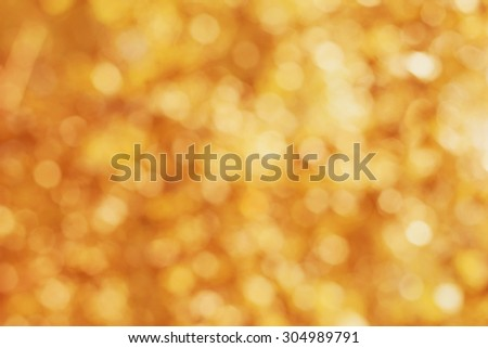 Blur autumn leaves for background, abstract bokeh backdrop for your design