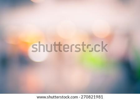 Blur background : Abstract bokeh light. - stock photo