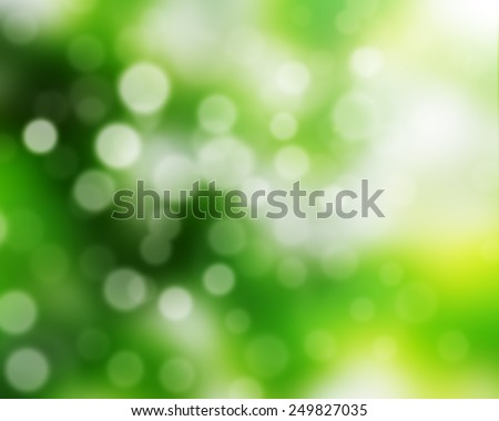 Blur background of natural green bright. - stock photo