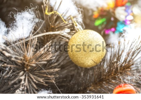 Blur Ball Bauble Hanging