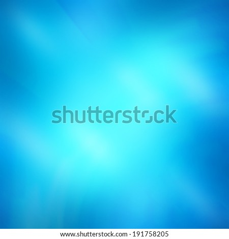 Blur blue abstract background - stock photo