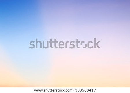 blur blurred abstract light on sunset balancing of nature phenomenon - stock photo