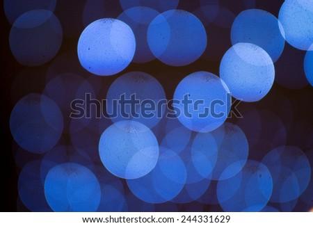 Blur blurred lights close up - stock photo