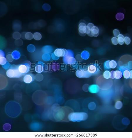 Blur bokeh light. Defocused background. - stock photo