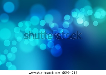 blur defocus lights - stock photo
