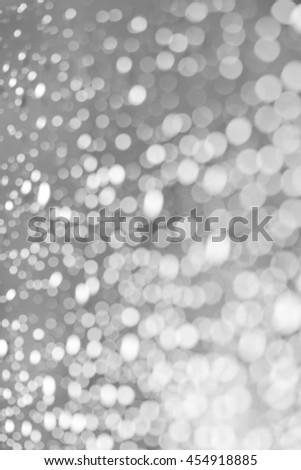 blur drop of rain - blurred background - stock photo