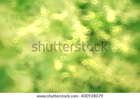 blur fresh green spring foliage gradient background motion