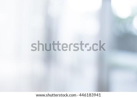 blur hospital - stock photo
