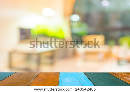 blur image of indoor living room . - stock photo