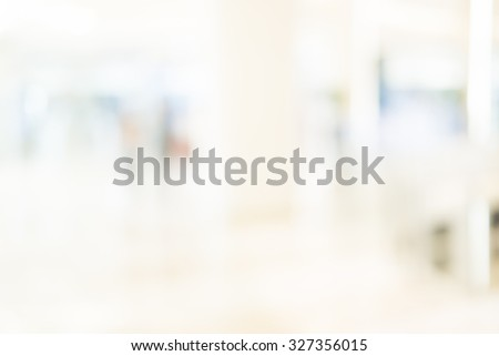 Blur image of shopping mall with shining lights - stock photo
