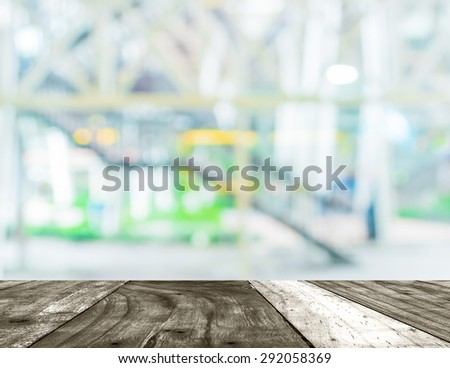 blur image of stairs in the city for background usage. - stock photo