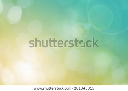 Blur Leaf bokeh background - stock photo