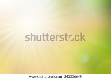Blur light nature background - stock photo