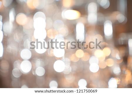 blur lights , defocused - stock photo