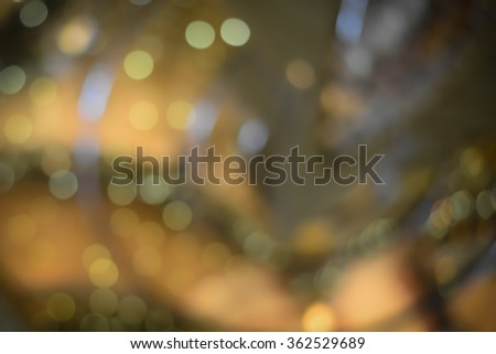 Blur Luxurious interior, abstract blur background for web design with Instagram style filter. - stock photo