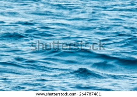 Blur ocean waves - stock photo