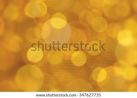 blur of beautiful golden background