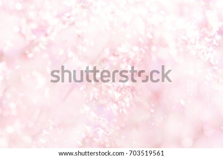 Blur pink flower (Melinis repens)  texture background