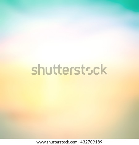 Blur Sea Frame Power Ocean Beach River Blue Filter Blank Earth Sun Idea Wave Clear Soft Light Bokeh Flare Sand Peace Relax Sunny Belief Cloudy Heaven Glow Begin Aqua Medicine World Ocean Day concept - stock photo