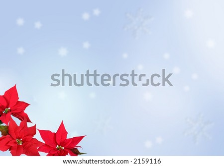 Blure Christmas Background - stock photo