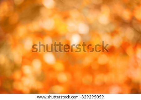 blurred abstract  autumn background - stock photo