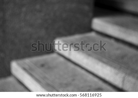 Blurred abstract background and can be illustration to article of staircase