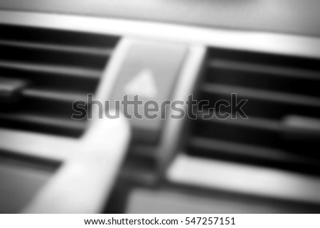Blurred abstract background of emergency light button