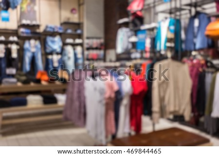 blurred abstract background of multicolored cotton clothing