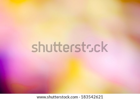 blurred abstract bokeh background color - stock photo
