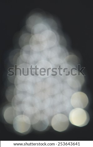 Blurred and defocused circles and bubbles background / Abstract background / Festive and holiday promotion spirit - stock photo