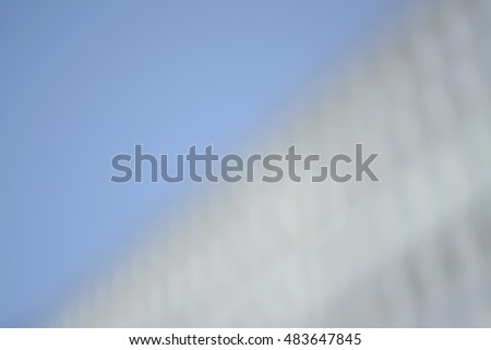 blurred background, blue and white