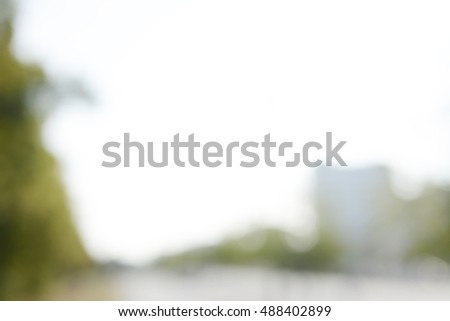 blurred background, city scape