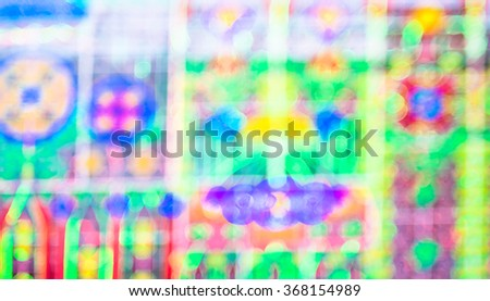 Blurred background, Colorful abstract bokeh light