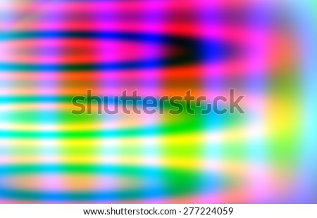 Blurred background consisting of gradients and colorful loops and oval shapes  - stock photo