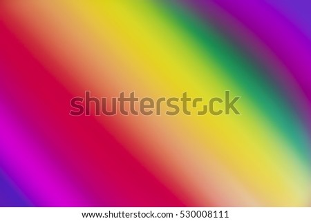 Blurred background of rainbow colored gradient