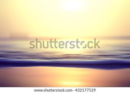 blurred background texture sea - stock photo