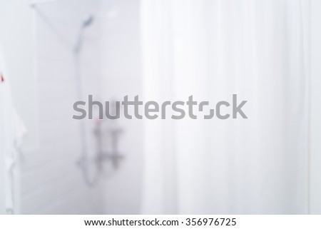 Blurred bathroom and toilet for backgrounds uses - stock photo