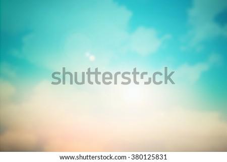 blurred beautiful natural landscape - photo #1