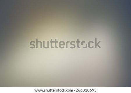 Blurred Blue and Yellow Organic Shape Background - stock photo