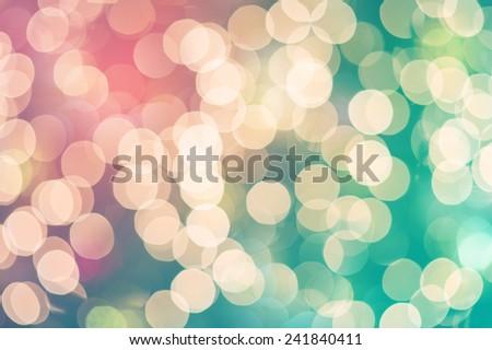 Blurred Bokeh  - stock photo