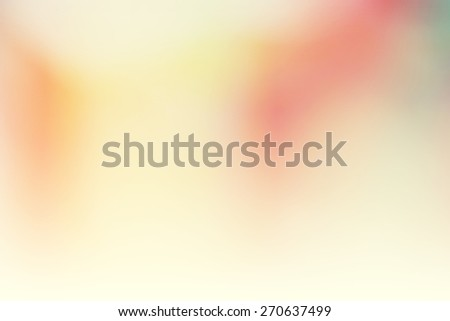 blurred color  pastel abstract background - stock photo