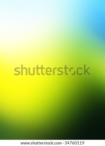 blurred colorful fresh background - stock photo